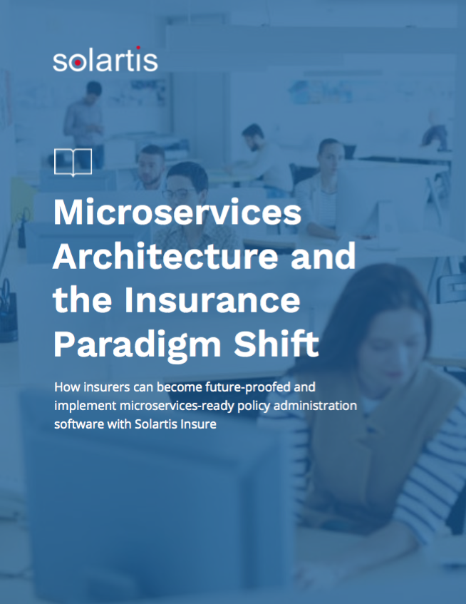 microservices architecture for insurance cover
