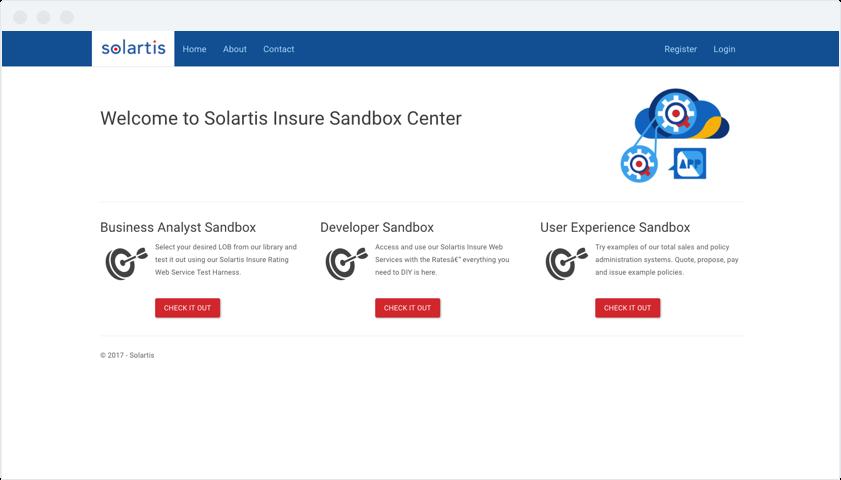 Solartis Sandbox